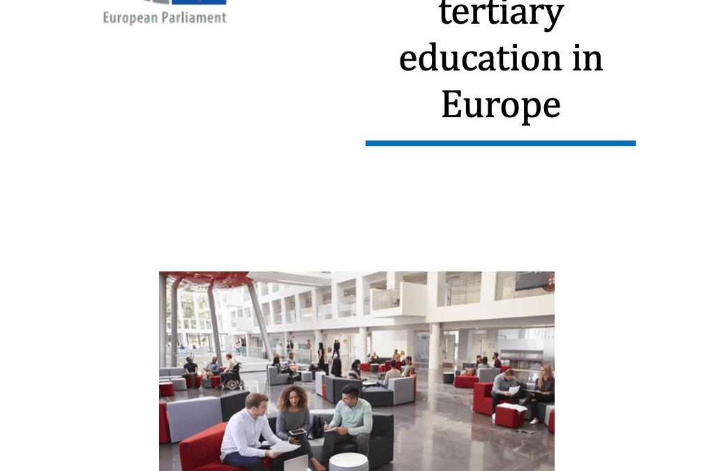 Europees Parlement: De toekomst van hoger onderwijs in Europa
