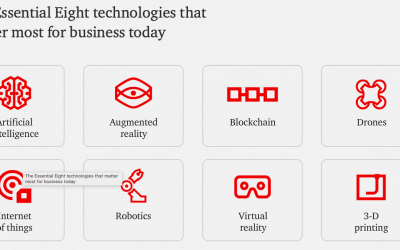 PwC: The essential eight technologies